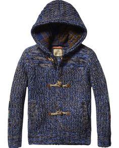 Cardigan en tricot épais | Vestes mi-saison | Habillement Garçon Scotch & Soda