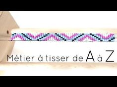 •| Utiliser un métier à tisser de A à Z |• - YouTube Bead Embroidery Jewelry, Beaded Embroidery, Beaded Jewelry, Beaded Bracelets, Perle And Co, Rainbow Loom, Loom Beading, Perler Beads, Diy And Crafts