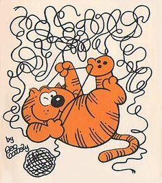 Heathcliff was always up to no good.
