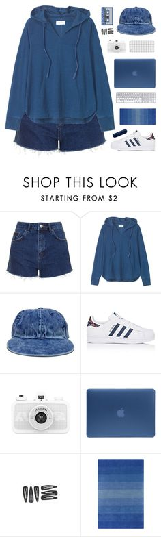 """""""Pretty Hearts"""" by dianakhuzatyan ❤ liked on Polyvore featuring Topshop, Toast, adidas, Incase, Chandra Rugs, polyvoreeditorial and organized"""