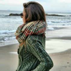 Fall walk on the beach. I LOVE!!