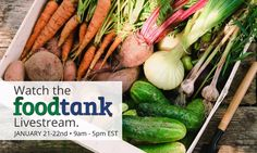 #FoodTank Summit still going on! Watch it live at FoodTank.com!