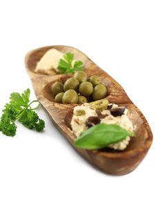 Antipastischale aus Olivenholz 30 x 7 cm | treevoli