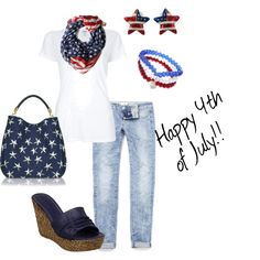 4th of July Outfit :)