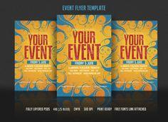 Event Flyer Template by DesignWorkz on Creative Market