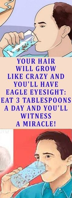 Eat 3 Tablespoons A Day And You'll Witness A Miracle! Your Hair Will Grow Like Crazy And Your Eyesight Will Improve Drastically! – Slim And Fit Health And Beauty, Health And Wellness, Health Care, Health Fitness, Fitness Tips, Holistic Wellness, Natural Cures, Natural Healing, Herbal Remedies