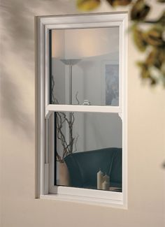White Knight uPVC sash window