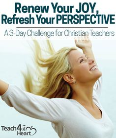 Feeling stressed, overwhelmed, or frustrated as a teacher? Join us in this free challenge to renew your joy & refresh your perspective as a Christian teacher.