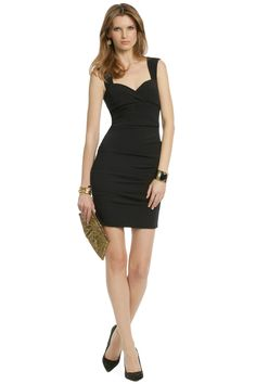 Rent Pitch Black Sheath by Nicole Miller for $40 only at Rent the Runway.