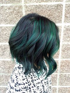 TRANSFORMATION: Pretty and Fun Dimension With Peacock Green - Career - Modern Salon