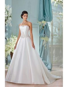 satin Princesse Balklänning bröllopsklänningar
