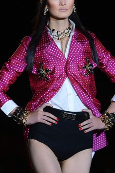 Dsquared² at Milan Spring 2013 (Details)