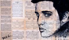 "Saatchi Online Artist Atelier Palluch; Painting, ""Elvis Presley"" #art"