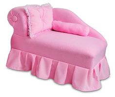 Fantasy Furniture Princess Chaise - Pink - #DiaperscomNursery