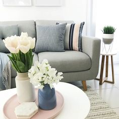 #AmartStyle via @bfree_style featuring cushions pot holder and vase from our new homeswares range as well as the Phoebe Fabric Sofa
