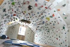 Rock Climbing Photo: climbing cave – Rock Climbing Photo: climbing cave – – Famous Last Words Indoor Bouldering, Bouldering Wall, Indoor Climbing Wall, Rock Climbing Walls, Sport Climbing, Cool Beds For Kids, New House Plans, Trendy Home, At Home Gym