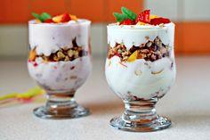 Fruit Yogurt Parfaits