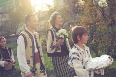Romanian traditional costume Romanian Wedding, Central And Eastern Europe, Wild And Free, Traditional Wedding, Wedding Ceremony, Dream Wedding, Wedding Inspiration, Costumes, Weddings