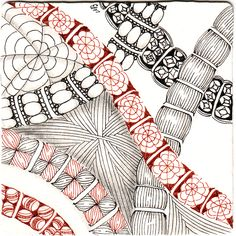 Certified Zentangle Teacher Shelly Beauch: Hurry it's Zander