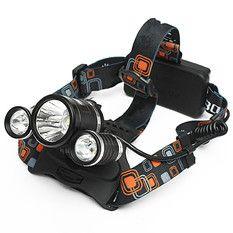 CREE Flashlight Head Lamp 5000lm XM-L 3x T6 LED Headlight Headlamp Light Torch
