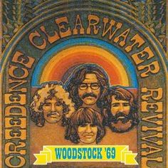 Creedence Clearwater Revival another band that makes me think that I was definitely born a few decades too late.