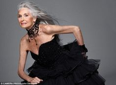"daphne self - age 83, the world's oldest supermodel!  ""Never had a facelift or anything done to my face"""