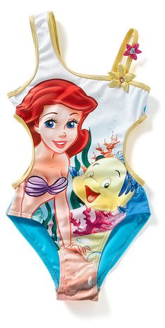 I would hope that my baby girl would love the little mermaid as much as I do!! ❤