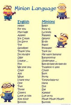 18 Of The Best Minion Jokes Quotes And Sayings - Jokes - Funny memes - - Well we have 18 of the best quotes from our favorite yellow minion friends! The post 18 Of The Best Minion Jokes Quotes And Sayings appeared first on Gag Dad. Minion Photos, Funny Minion Pictures, Funny Minion Memes, Minions Quotes, Jokes Quotes, Funny Texts, Funny Jokes, Minions Pics, Minion Love Quotes