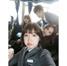Go Eun-byul, Cha Song-joo, Lee Shi-jin and . Korean Drama Movies, Korean Actors, Korean Dramas, Who Are You School 2015, Kim So Hyun Fashion, Teen Series, Best Kdrama, Kim Sohyun, Drama School