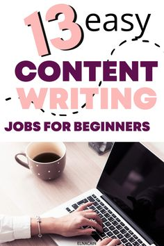 Here are some easy content writing jobs for beginners. These online freelance content writing jobs will help you earn money so you can get paid to write articles. Online Writing Jobs, Freelance Writing Jobs, Business Checks, Business Tips, Easy Online Jobs, Career Ideas, Business Motivational Quotes, Creative Jobs, Business Inspiration
