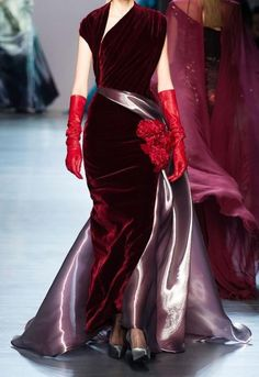 """notordinaryfashion: """"Georges Chakra Haute Couture Fall 2014 """""""