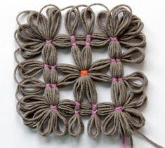 Burda Style Moda - El gusto por la lana Poncho de Tricot - COLECCIONES - MODA - TENDENCIAS