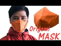Origami Paper MASK | Medical MASK - YouTube Paper Crafts Origami, Origami Easy, Easy Face Masks, Diy Face Mask, Paper Face Mask, Fashion Infographic, Mask Template, Fashion Mask, Diy Mask