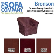 Bronson's high back and arms provide excellent support for resting in any position, and his small rolled arms give him the versatility to fit in with any style.   #Bronson #ProductSpotlight #TheSofaCompany