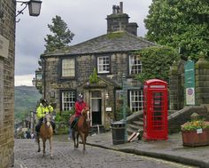 Haworth, the home of the Bronte family, is almost as famous as Stratford-upon-Avon as a place for literary pilgrimage.