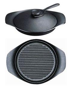 Sori Yanagi cast iron grill pan: Remodelista