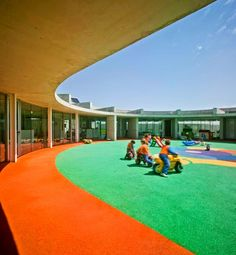 "Centro de Educación Infantil y Primaria ""La Monsina"" - Archkids. Arquitectura para niños. Architecture for kids. Architecture for children."