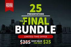 The Final Bundle | 25 Presentations ~ Presentation Templates on Creative Market