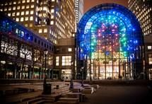 Light Cycles - Winter Garden in Financial District  November 2, 2014 through March 7,2015