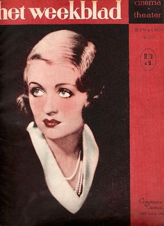 Constance Bennett - Dutch Mag 3-1931