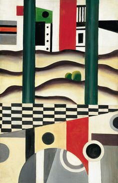 El puente - Fernand Léger | Museo Thyssen