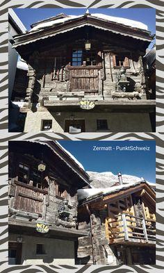 «Looks good the Valais! Swiss Chalet, Swiss Alps, Zermatt, Swiss Switzerland, Mountain Homes, Central Europe, The Good Place, Landscape, House Styles