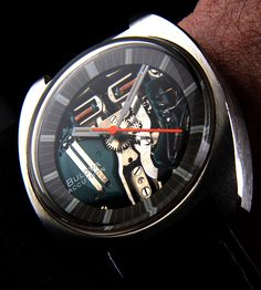 Bulova Accutron Spaceview With Tuning Fork Movement