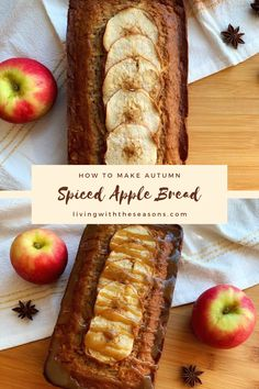 Mabon, Samhain Recipes, Fall Recipes, Autumn Apple Recipes, Autumn Recipes Baking, Christmas Recipes, Apple Bread, Cupcakes, Spiced Apples