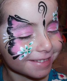 Girls - Fun 2 c Faces Face painting Cornwall