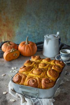 Pumpkin Recipes, Fall Recipes, Sweet Recipes, Vegan Recipes, Cooking Recipes, Cinammon Rolls, Torte Cake, Daily Meals, Sweet Cakes