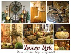How I Found My Style Sundays Savvy Seasons Tuscany Home Decoratingtuscan