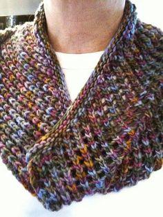 Tuesday Evening by Hannah Ingalls. malabrigo Worsted in Deja Vu colorway. Knitted Shawls, Crochet Scarves, Knit Crochet, Knitting Scarves, Knitting Projects, Knitting Patterns, Crochet Patterns, Knitting Ideas, Crochet Ideas