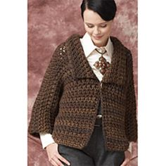 Ravelry: One Piece Jacket pattern by Patons