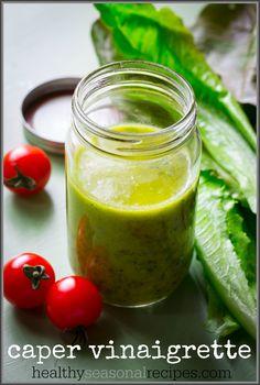 caper vinaigrette on healthyseasonalrecipes.com #paleo #glutenfree